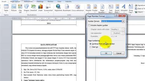 cara membuat halaman di word agar berbeda cara membuat halaman yang berbeda dalam satu file di