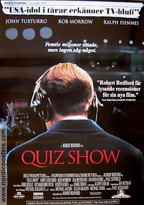 film review quiz show quiz show movie poster 1995 original nordicposters