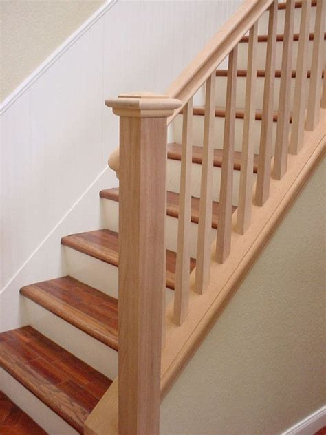 wooden banister rail banisters dream home pinterest