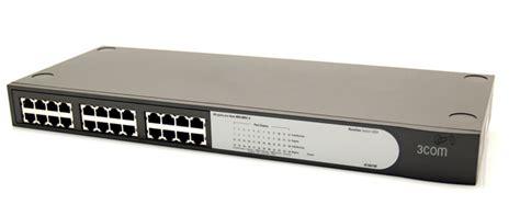 Swich Hub 3com 24pot 3com 3c16471 2024 baseline 10 100 24 port switch 3com