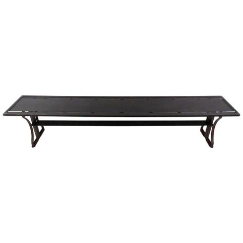 cool benches for sale unique sculpted iron industrial metal bench for sale at