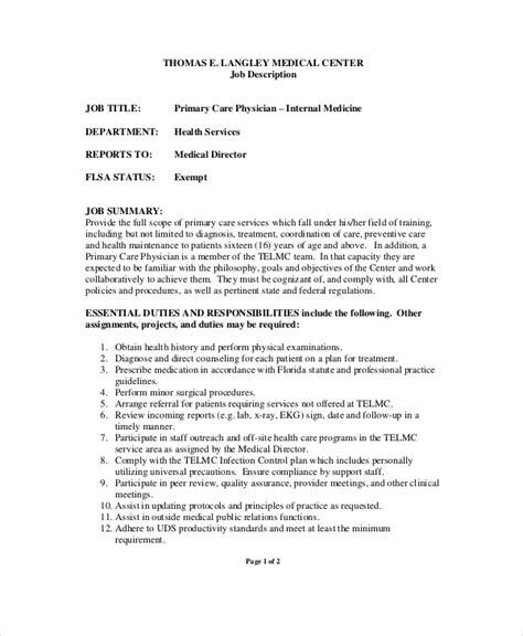 medical receptionist job description for trend receptionist job