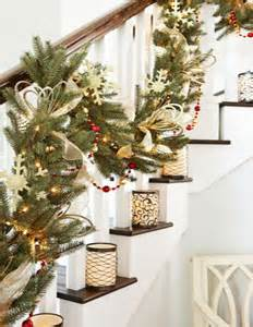 garland hangers for banister decorations for your entryway