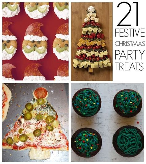 21 christmas party food ideas