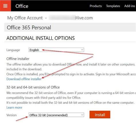 Office 365 Offline Installer Office 365 Offline Installer Setup