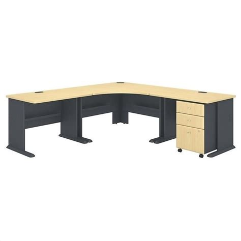 Bush Series A Corner Desk Features