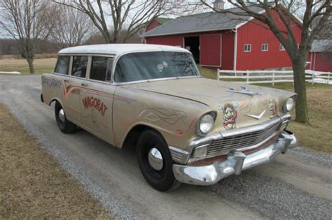 1956 chevrolet station wagon 1956 chevrolet bel air station wagon tri five chevy