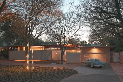 midcentury modern architecture tarrytown residence midcentury exterior austin by