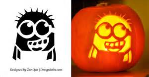 minion pumpkin carving template 5 free minion pumpkin carving stencils patterns
