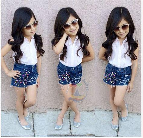 Set Modas Kid casual sets for summer children s clothing baby 2pcs suit sets fashion cotton
