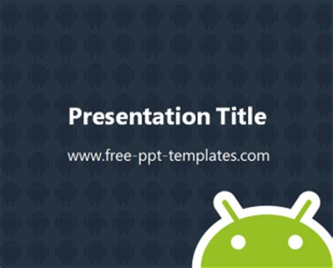 powerpoint for android android ppt template free powerpoint templates