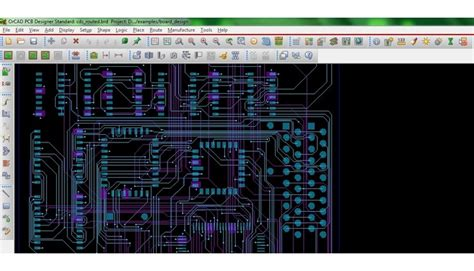 free pcb layout editor 20 free pcb design software