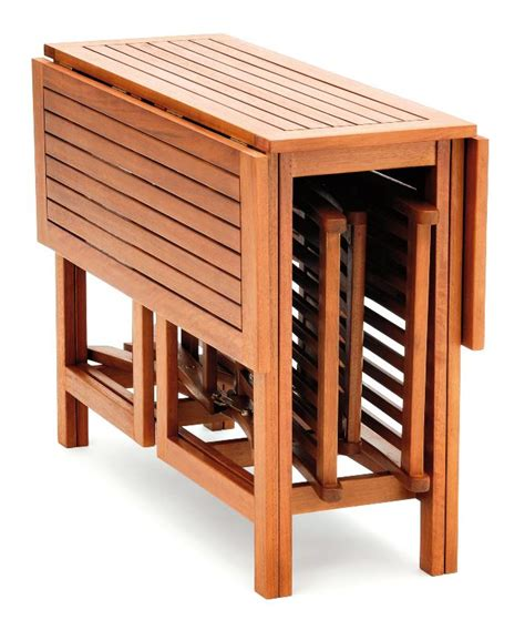 set de balcon port offert table en bois table et chaises
