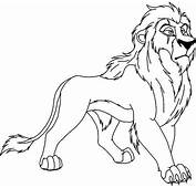 Lion King 67 Colouring Pages