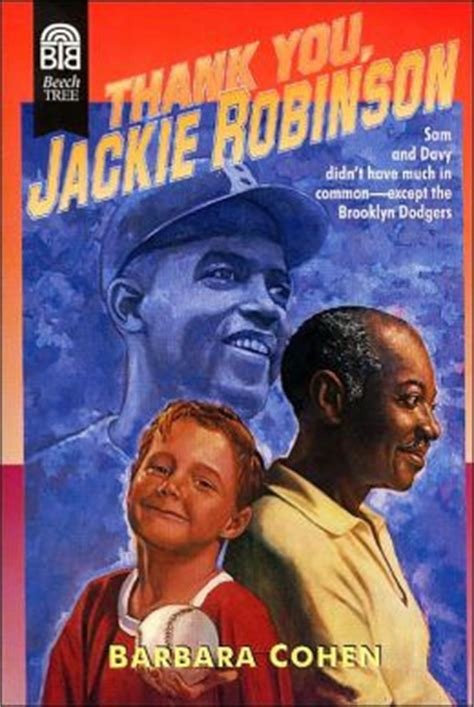 the united states v jackie robinson books thank you jackie robinson by barbara cohen