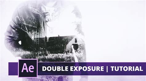 double exposure tutorial italiano true detective title double exposure after effects