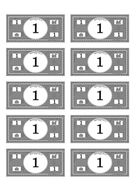 printable monopoly money template monopoly money 1 budget