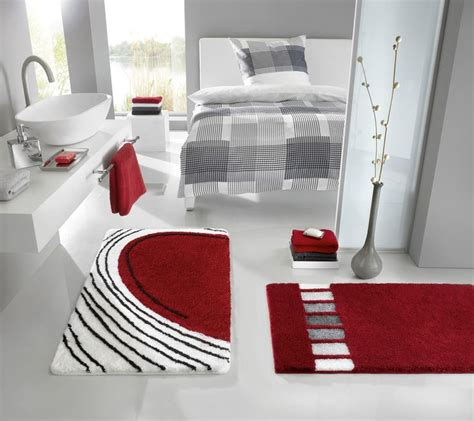 home and style with modern bathroom rugs decozilla
