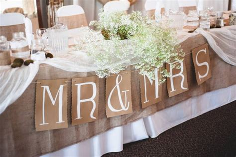 rustic wedding party table decoration 28 2014