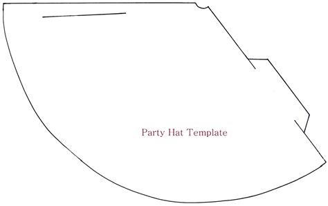 How To Make A Birthday Hat Out Of Paper - birthday hat template madinbelgrade