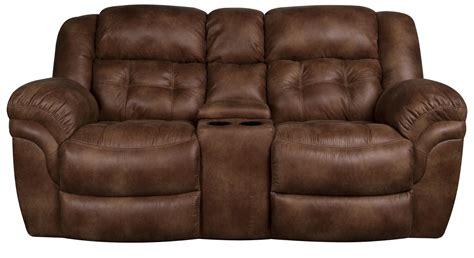 furniture glamour reclining loveseat  center console  modern furniture design