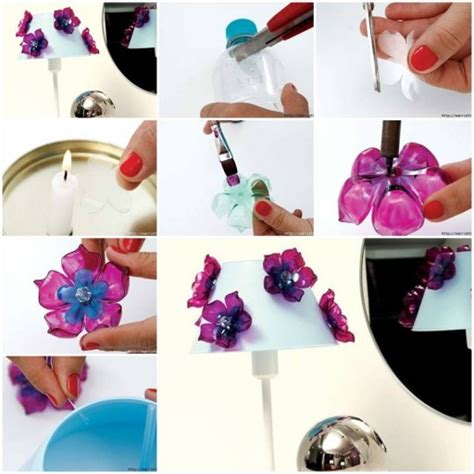 Plastikteile Lackieren Anleitung by Diy Plastic Flower From Recycled Plastic Bottles Fab Art