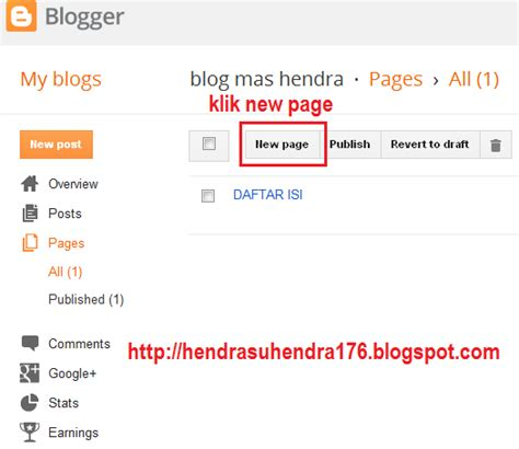 cara membuat daftar isi i cara membuat daftar isi di blog blog mas hendra