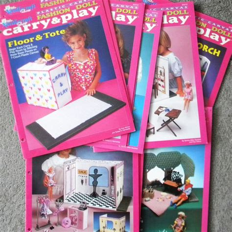 fashion doll house plastic canvas 23 best images about doll furniture toys plastic canvas