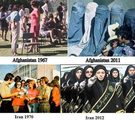 then and now afghanistans and iran curiosities