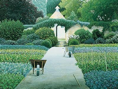 house garden england edition le manoir auz quat saisons by michael kidd print