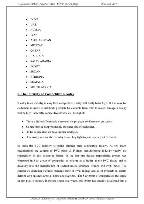 Mba St 39 by Mba Internship Report