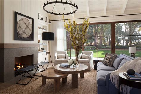 home interiors decorating rustic chic farmhouse style dwelling in northern california