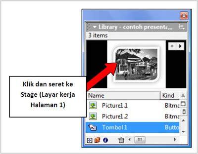 cara membuat presentasi yang menarik dengan macromedia flash membuat even presentasi image preview sederhana dengan
