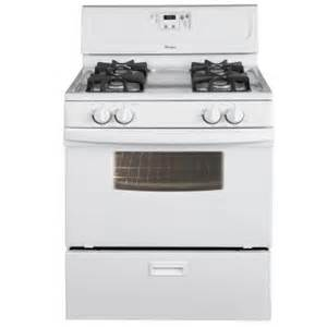 home depot gas ranges whirlpool 4 4 cu ft gas range in white discontinued