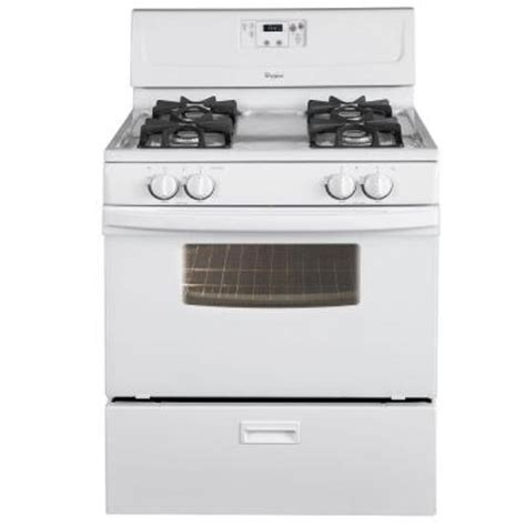whirlpool 4 4 cu ft gas range in white discontinued