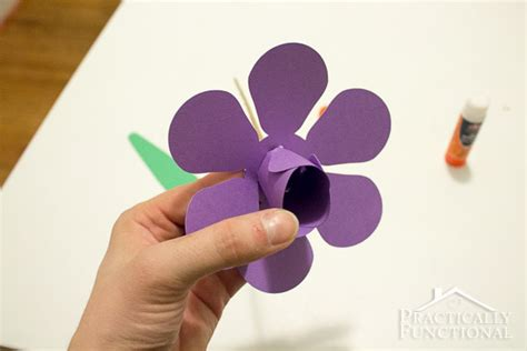 How To Make A 3d Paper Flower - how to make paper flowers 3d paper tulips