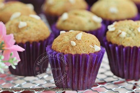 Tepung Premix Banana Cake homekreation kitchen corner assorted muffins for idh