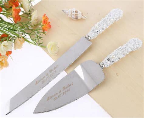 Free Shipping Personalized Wedding Resin Cake Knife
