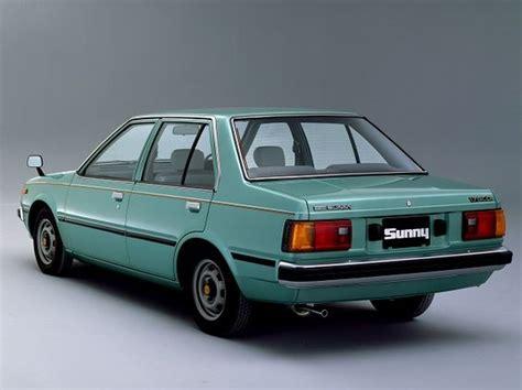 nissan sunny old model nissan sunny sedan 1981 1985 autos pinterest