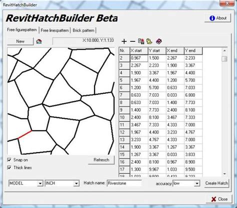 download hatch pattern revit revitcity com object riverstone pat file created with