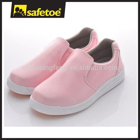 Sepatu Safety Safetoe sepatu safety wanita ukuran tumit tinggi sepatu perawat