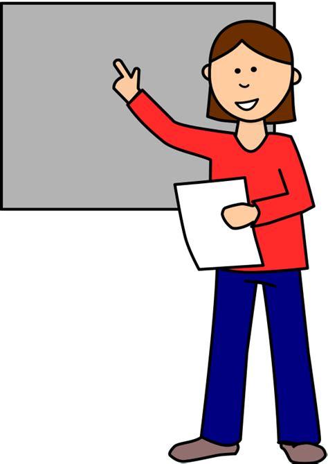 Presentation Clipart free student doing presentation clip