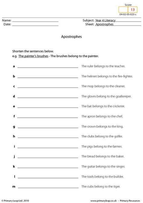 apostrophe worksheets apostrophes worksheet mmosguides