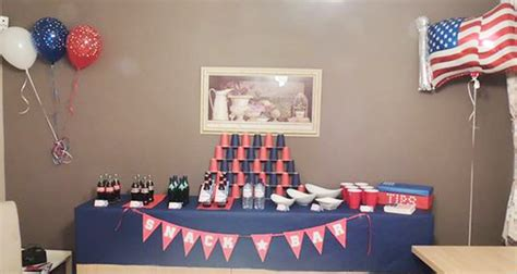 Deco De Table Americaine by D 233 Coration De Buffet Usa