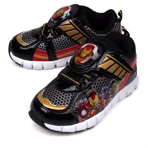 ebay light up shoes marvel light up boys shoes sneakers velcro