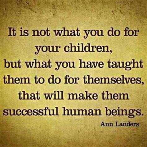life inspiration quotes: Teaching your children success quote