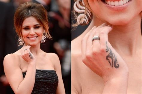 cheryl cole rose tattoo cheryl cole s tribe the 50 most stylish