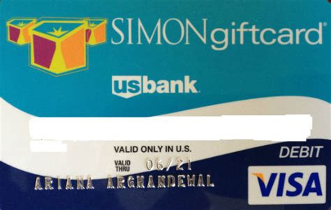 My Simon Gift Card - how to buy visa gift cards with your name on them