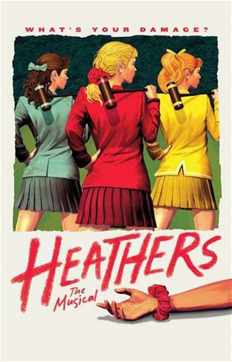 Heathers The Musical Official Poster   Heathers
