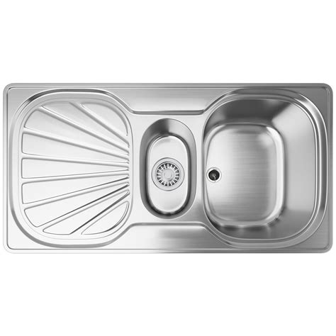 franke erica sink franke erica eux 651 stainless steel 1 5 bowl inset sink